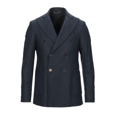 GH テーラードジャケット ダークブルー 54 ウール 55% / ナイロン 20% / ポリエステル 20% / カシミヤ 3% / ポリウレタン