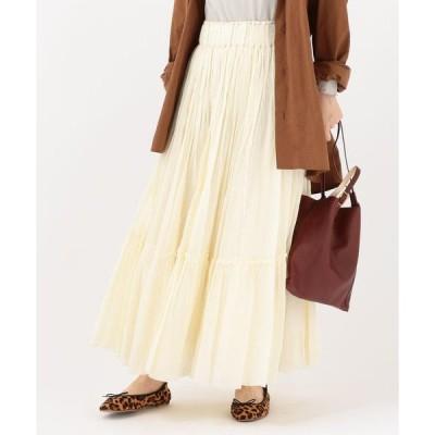 SHIPS for women / シップスウィメン Soi-e:ティアードマキシスカート