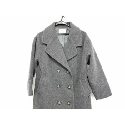 アングリッド UNGRID コート サイズS レディース 美品 - グレー 長袖/秋/冬【中古】20200718