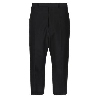 リック オウエンス RICK OWENS パンツ ブラック 50 レーヨン 47% / コットン 38% / シルク 15% パンツ