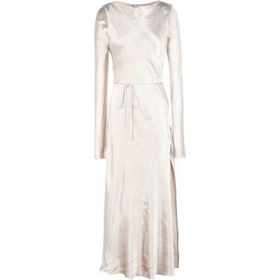 BEC & BRIDGE ロングワンピース&ドレス サンド 6 100% レーヨン ロングワンピース&ドレス