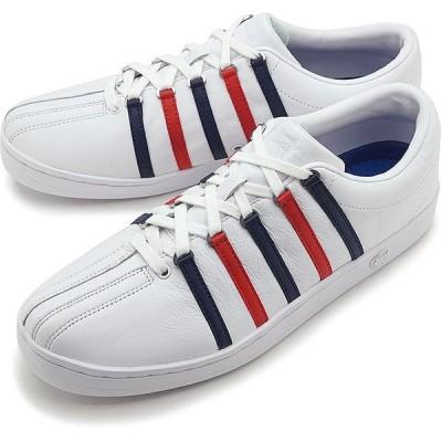 ケースイス K-SWISS スニーカー クラシック88 CLASSIC 88 36022482:06322-154 SS20 メンズ・レディース 定番 レザー ローカットシューズ 靴 WBR ホワイト系