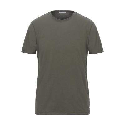 SSEINSE T シャツ ミリタリーグリーン S コットン 100% T シャツ