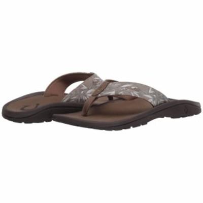オルカイ OluKai メンズ ビーチサンダル シューズ・靴 Ohana Pai Clay/Ohe Kapala