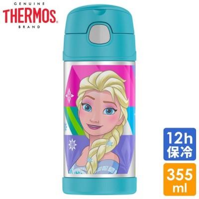 サーモス 子供 水筒 ディズニー アナと雪の女王  ステンレス マグ ストロー付 THERMOS
