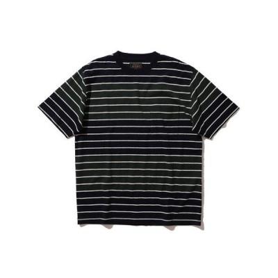 tシャツ Tシャツ BEAMS PLUS / インディゴボーダー Tシャツ