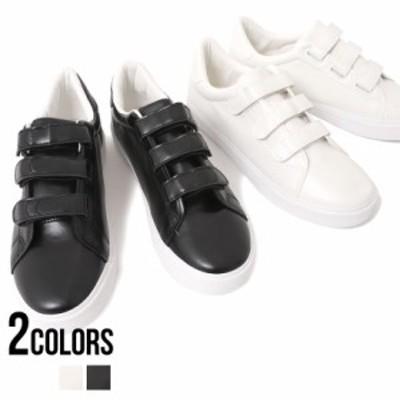【10%OFFクーポン配布】靴 スニーカー メンズ SB select シルバーバレットセレクト PUレザーローカットベルクロスニーカー 即日発送 PUレ