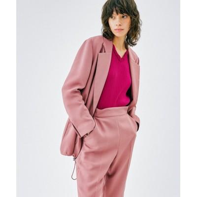 LANVIN en Bleu WOMEN / ドロストコードテーラードジャケット WOMEN ジャケット/アウター > テーラードジャケット