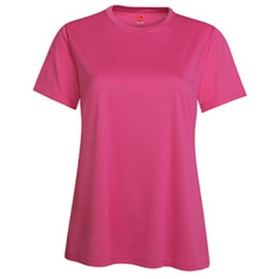レディース 衣類 トップス 4830 Womens Cool Dri Performance T-Shirt - Wow Pink Large Tシャツ