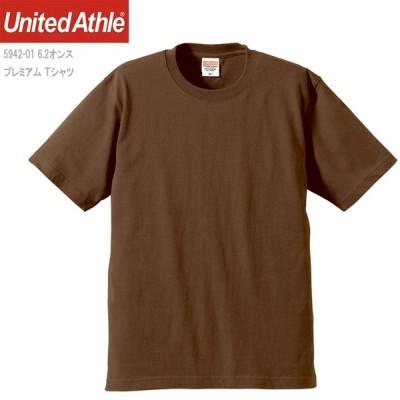 6.2ozプレミアムTシャツ/Dブラウン/L