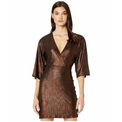 BCBジェネレーション ワンピース トップス レディース Cocktail Kimono Sleeve Knit TOX6255978 Bronze