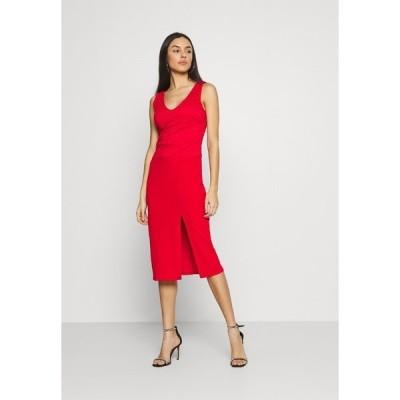 ヴァル ジー ワンピース レディース トップス BRINLEY MIDI DRESS - Day dress - red