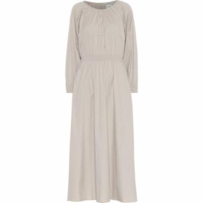 マックスマーラ S Max Mara レディース ワンピース ミドル丈 ワンピース・ドレス Guelfi cotton-blend midi dress
