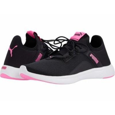 プーマ レディース スニーカー シューズ Softride Vital Femme Puma Black/Luminous Pink