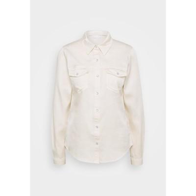 ヴィラ シャツ レディース トップス VIBISTA  - Button-down blouse - birch