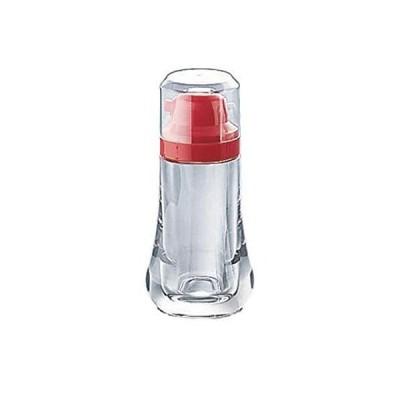 小林樹脂工業 健康醤油さし ポッタンα 赤 本体ビン:AS樹脂 日本 PSYE901