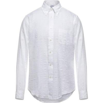 ブルックス ブラザーズ BROOKS BROTHERS メンズ シャツ トップス Solid Color Shirt White