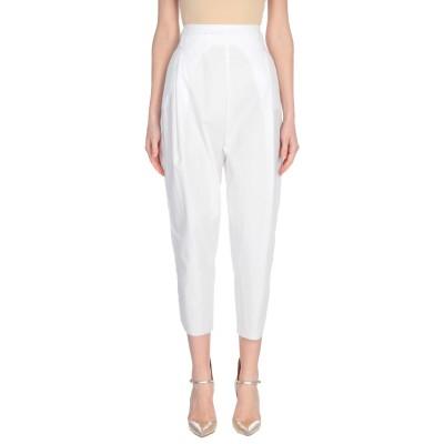 マスナダ MASNADA パンツ ホワイト 40 コットン 99% / ポリウレタン® 1% パンツ