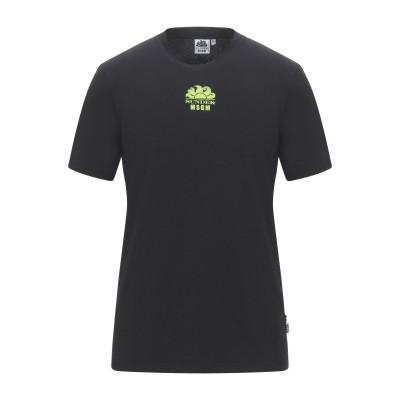 MSGM x SUNDEK T シャツ ブラック S コットン 100% T シャツ