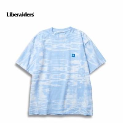 Liberaiders リベレイダース LR TYEDYE TEE BLUE Tシャツ