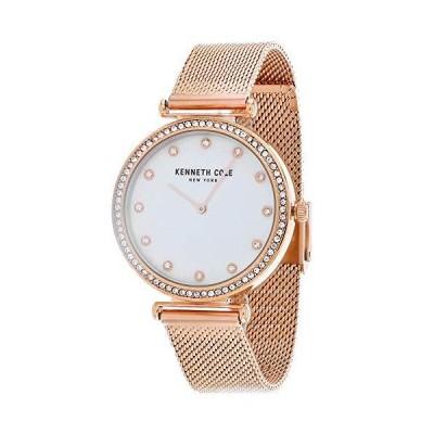 Kenneth Cole Women's Classic Mop KC50927004 Rose-Gold Stainless-Steel Quartz Dress Watch