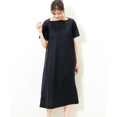 大きいサイズ  リネンミックスワンピース ,スマイルランド, ワンピース, plus size dress