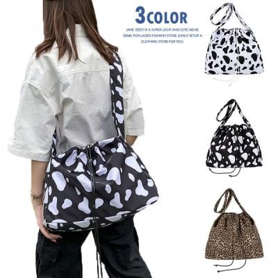 バッグ ショルダーバッグ ハンドバッグ レオパード 鞄 ママバッグ ビームポケット 肩掛け かばん 多機能 通学 旅行 通勤 大容量 レディース  メンズ