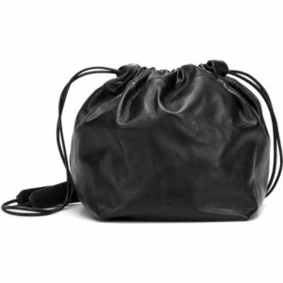 ジル サンダー Jil Sander レディース バッグ バケットバッグ leather bucket bag Black