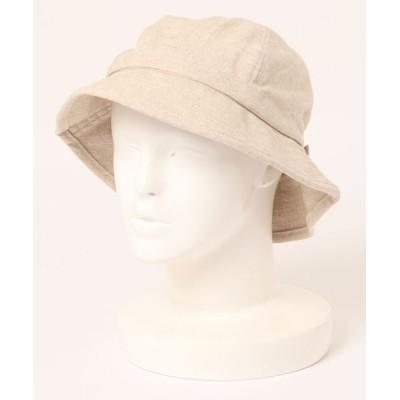 Samansa Mos2 / 綿麻ホーダブルハット WOMEN 帽子 > ハット
