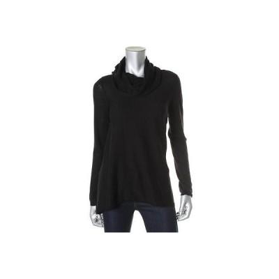 海外セレクション セーター アウター Alice + Olivia 2982 レディース ブラック ウール 長袖 Turtleneck セーター Top S BHFO
