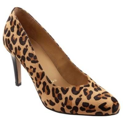 トロッターズ サンダル シューズ レディース Angie Pointed Toe Pump (Women's) Tan Leopard Leather