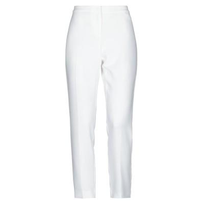 PENNYBLACK パンツ ホワイト 42 トリアセテート 71% / ポリエステル 29% パンツ