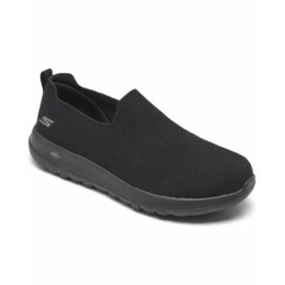 スケッチャーズ メンズ スニーカー シューズ Men's GOwalk Max Slip-On Extra Wide Walking Sneakers from Finish Line Black