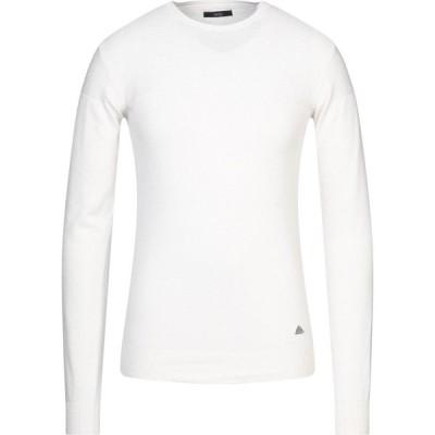 イエスズィー バイ エッセンツァ YES ZEE by ESSENZA メンズ ニット・セーター トップス sweater Ivory