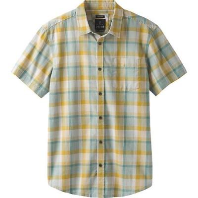 プラーナ シャツ メンズ トップス Prana Men's Bryner Shirt - Standard Ashy