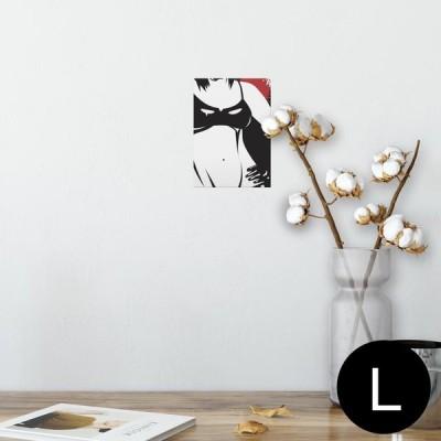 ポスター ウォールステッカー シール式 89×127mm L版 写真 壁 インテリア おしゃれ wall sticker poster おしゃれ 女性 セクシー 011497