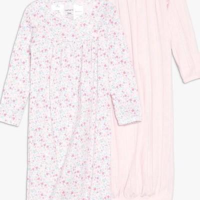 カーターズ キッズ ファッション GOWN BABY 2 PACK - Nightie - pink