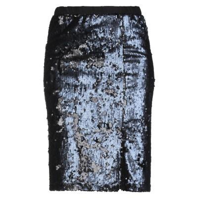 SHOP ★ ART ひざ丈スカート ブラック XS ポリエステル 100% ひざ丈スカート