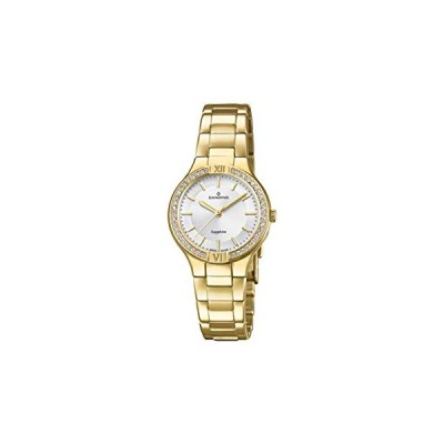 Candino Womens Analogue Classic Quartz Watch with Stainless Steel Strap C4629/1 並行輸入品