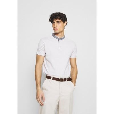 インディコーデ ジーンズ Tシャツ メンズ トップス AVILES - Print T-shirt - willow grey