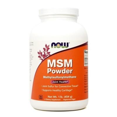 ナウフーズ MSM(メチルスルホニルメタン)パウダー 454g Now Foods MSM Powder 1 lb