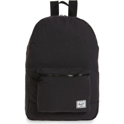 ハーシェル サプライ HERSCHEL SUPPLY CO. レディース バックパック・リュック デイパック バッグ Cotton Casuals Daypack Backpack Jet Black