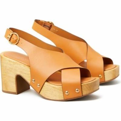 トリー バーチ TORY BURCH レディース サンダル・ミュール シューズ・靴 Blythe Platform Slingback Sandal Dark Elba