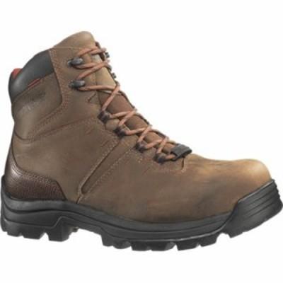 ウルヴァリン レインシューズ・長靴 Bonaventure Waterproof Boot 6 Steel Toe EH Brown