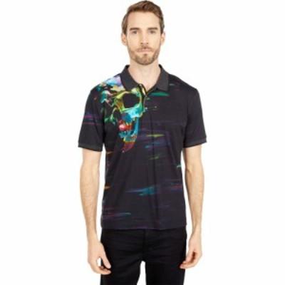 ロバートグラハム Robert Graham メンズ ポロシャツ 半袖 トップス Vanish Short Sleeve Knit Polo Black