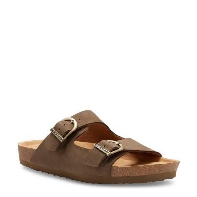 イーストランド メンズ サンダル シューズ Men's Cambridge Leather Sandal Olive