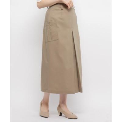 smart pink(スマートピンク) 【手洗い可】インバーテッドプリーツロングスカート