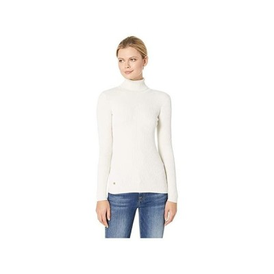 LAUREN Ralph Lauren Turtleneck Sweater レディース セーター Mascarpone Cream