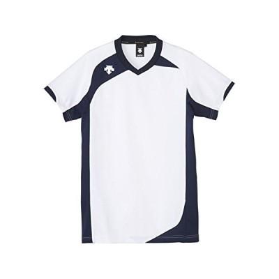 DESCENTE(デサント) DSS-4720 カラー:WHT サイズ:O ハンソデゲームシャツ