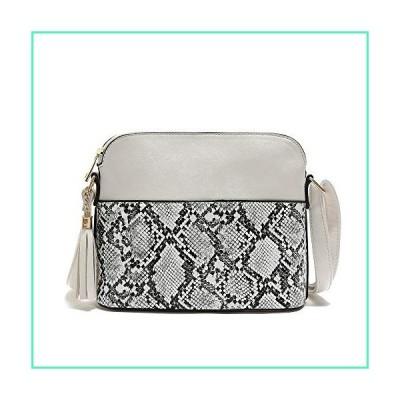 Crossbody Bag Women Handbag,Lightweight Medium Dome Animal Print Shoulder Purse,Top zipper,Golden Hardware,Adjustable Strap並行輸入品